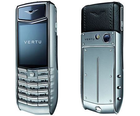 Vertu Ascent 2010 phone photo gallery  official photos