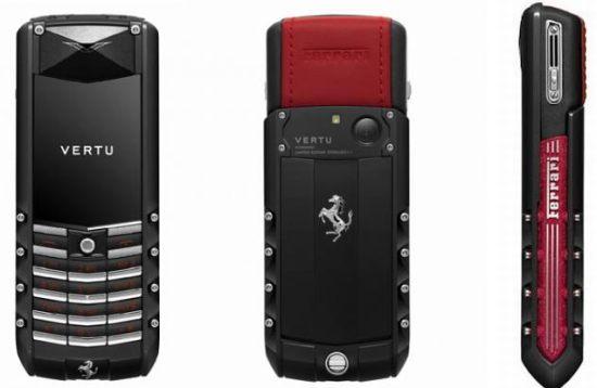 Vertu unveils limited edition Ascent Ferrari GT luxury phone