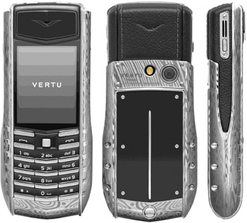 Vertu Ascent Ti Damascus Steel may not be Sonim but its tough