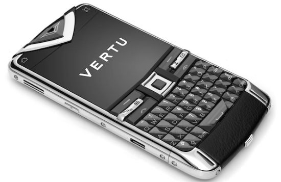 Vertu Constellation Quest goes for the QWERTY keyboard   Bornrich