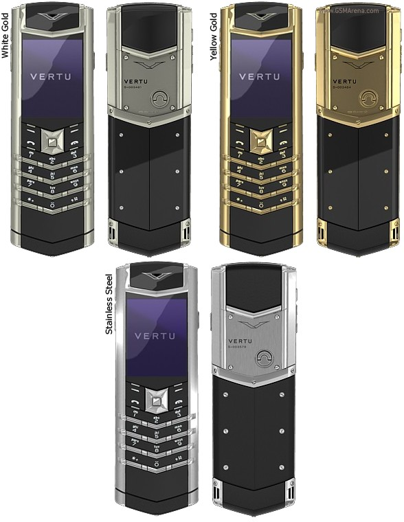 Vertu Signature S pictures  official photos