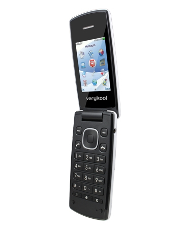 verykool i320 unlocked folder flip phone