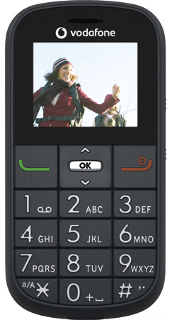 Vodafone 155   with Prepay Freebees mobile phone  View features