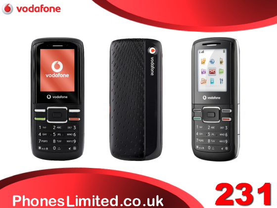 Vodafone 231 Pay As You Go Talk Phone Deals UK   Phones Limited