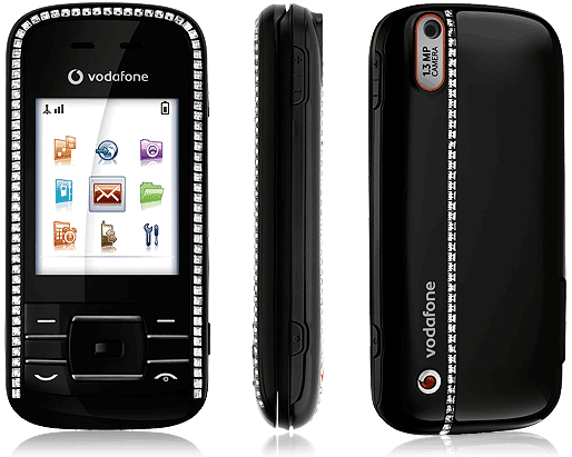 Vodafone 533 Crystal phone photo gallery  official photos