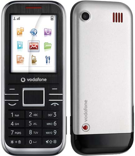 Vodafone 540 phone photo gallery  official photos