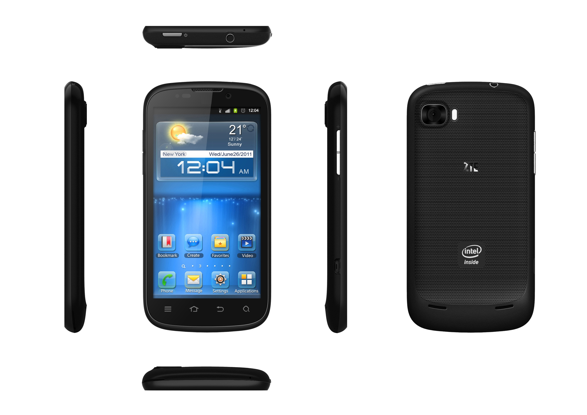 ZTE Grand X IN     Intel Powered Android 4 0 phone   Eurodroid