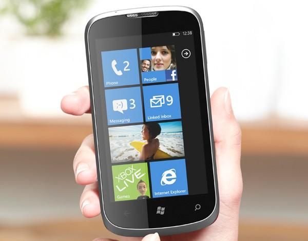 ZTE Orbit is  another  budget Windows Phone  4 inch display  1GHz