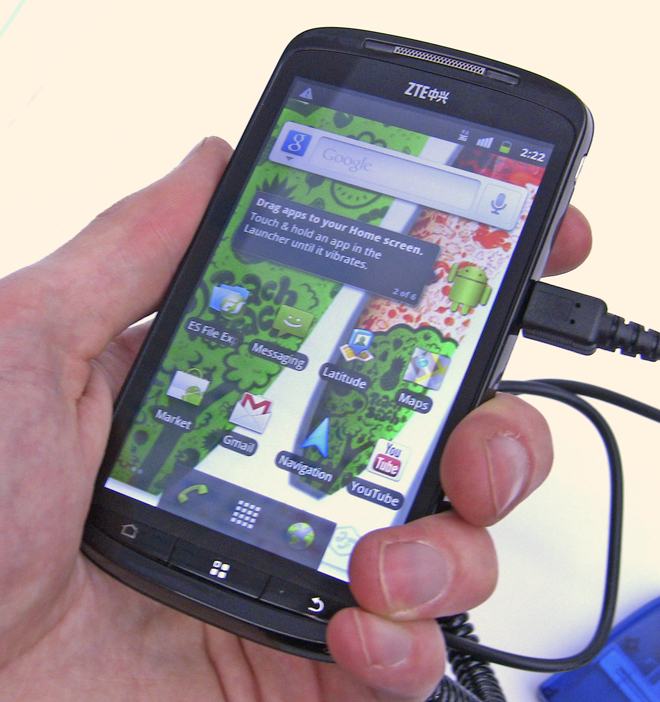 ZTE Skate Packs Android  4 Inch Screen  Coming to Europe Q2