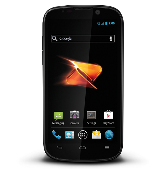 ZTE Warp Sequent Android Phone Specs   Boost Mobile